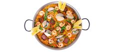 Paella Mixta (made with shrimp and clams) What I'm going to make the hubs when he needs a smile!