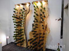 CONOCIMIENTO, APRENDIZAJE [+]: Arte Y Diseño: Mueble hecho de pedazos de un árbol.