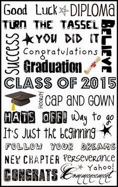 Graduation Subway Art 2015 from Upcycled Education