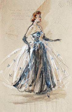 Bosquejo de Edith Head
