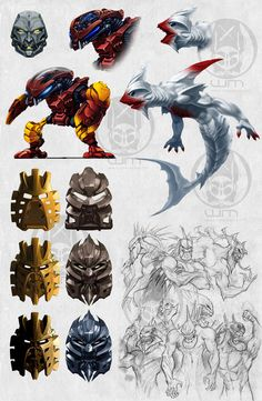 Incredible Bionicle concepts