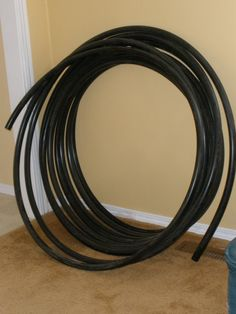 how to make a hula hoop. inc the type of tubing you need.