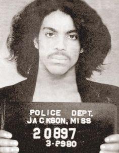Prince, 1980 mug shot