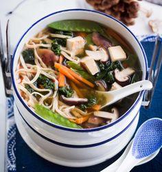 Japanese noodle soup - Japanilainen nuudelikeitto, resepti – Ruoka.fi Photo/Kuva: Sampo Korhonen/Otavamedia