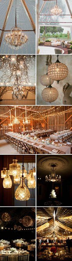 Stunning lighting ideas for your wedding.