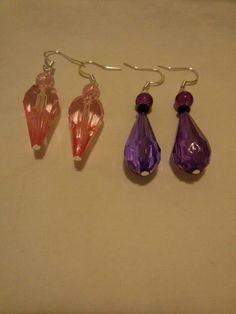 Pink orecchini
