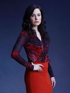 Caroline Dhavernas as Dr. Alana Bloom #Hannibal