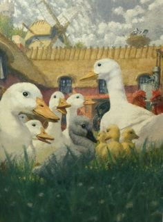 The Ugly Duckling...this story broke my heart as a child.