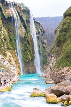 Cascadas de Tamul - San Luis Potosi - Mexico
