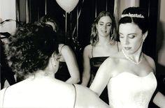 Wedding Hair Wedding Events, Wedding Hairstyles, Strapless Dress, Dresses, Fashion, Strapless Gown, Vestidos, Moda, La Mode