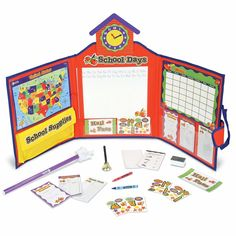 Learning Resources Pretend & Play School Set, 149 Pieces, Ages [Standard P. Home Learning, Learning Resources, Walmart Home, School Sets, Imaginative Play, Pretend Play, Problem Solving, Cool Toys, School Supplies