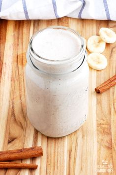 The use of coconut milk in this coconut milk smoothie means it's dairy free for easier digestion. It also provides you with healthy fat and lauric acid to help cleanse the body.