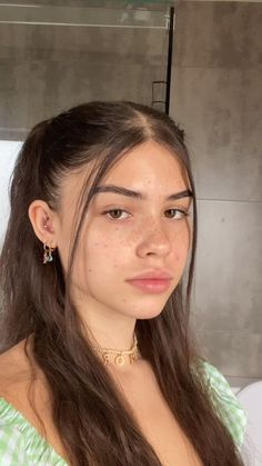 Hairstyles For School, Summer Hairstyles, Trendy Hairstyles, Straight Hairstyles, Girl Hairstyles, Hair Day, New Hair, Pelo Indie, Hair Inspo