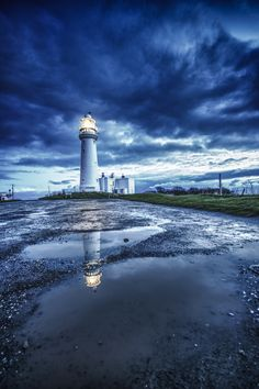 An early morning shoot at Flamborough Head Lighthouse in North Yorkshire