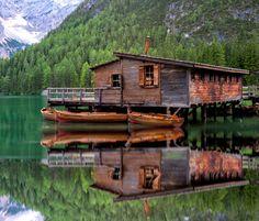 Braies lake by Matteo Fortunato on 500px