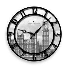 Raised Big Ben Wall Clock
