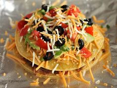 Loaded Mexican Pizza #mexicanfood