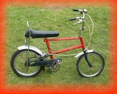 choppers - my brother had a bike like this