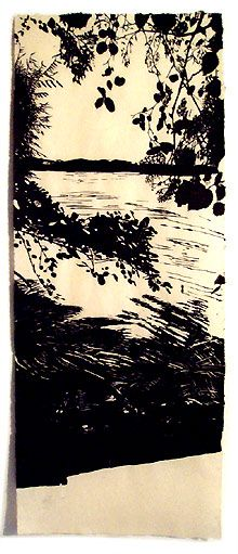 woodblock Eva Pietzcker