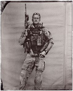 """Stunning Images of U.S. Soldiers in Afghanistan Captured Using Civil War-style Tintype""."