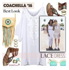Hot Coachella Style by ansev on Polyvore featuring polyvore, fashion, style, Sam Edelman, Leatherock, clothing, sammydress and bestofcoachella