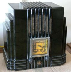 Before there was the ipod......  vintage art deco radios - Bing Images