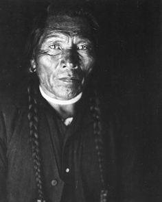 Henry Looking Glass, Nez Perce, 1913.