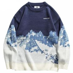 Pull Oversize Vintage, Böhmisches Outfit, Harajuku, Top Streetwear Brands, Cool Sweaters, Vintage Sweaters, Graphic Sweaters, Online Shopping Clothes, Pulls