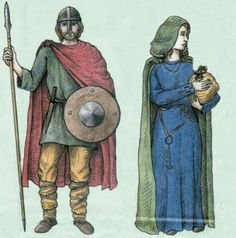Middle ages and anglo-saxon?