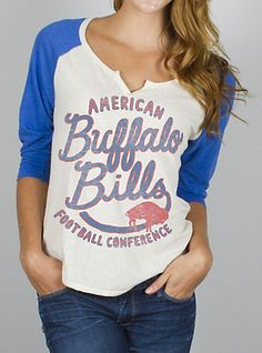 "N4034-4922 ""NFL Buffalo Bills Rookie Raglan"""