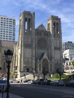 Grace Cathedral. Taylor and California Streets. San Francisco, CA