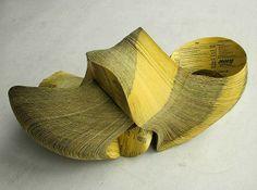 Recycled Paper Sculptures by Janna Syvänoja