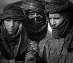 Portrait of Tuareg Men and Women in Mali Photography by Mark Brunner