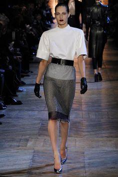 Saint Laurent Fall 2012 Ready-to-Wear Fashion Show - Othilia Simon (SILENT)