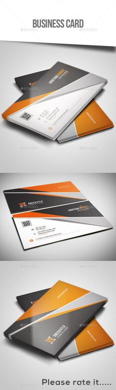 Creative Business Card Template #design Download: http://graphicriver.net/item/creative-business-card/12453611?ref=ksioks