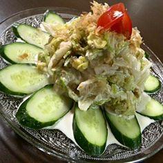 ダンナさんの実家で、大きな白菜を頂いたから~♪ また作っちゃった~(*^O^*) おかなさんの白菜サラダ~( 〃▽〃) だって、美味しすぎるんだもの - 128件のもぐもぐ - おかなさんのお箸が止まらない♪白菜のサラダ♡ by Hisayo13