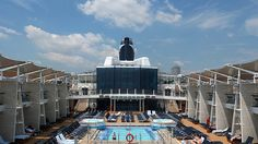 Celebrity Cruise; Celebrity Silhouette -Pool-