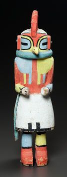 American Indian Art:Kachina Dolls, A HOPI COTTONWOOD KACHINA . c. 1940...