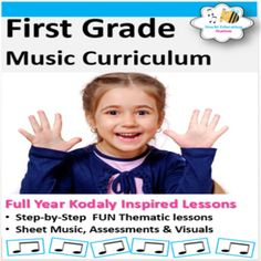 First Grade Music Curriculum {Yearly Bundled. by Stucki Education Station Physical Education Games, Music Education, Music Teachers, Health Education, Movement Activities, Music Activities, Elementary Music Lessons, Elementary Schools, Music Lesson Plans