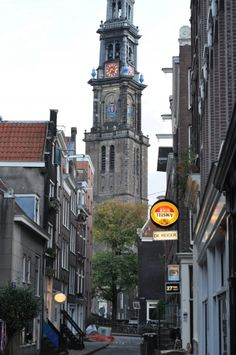 Jordaan Amsterdam walking tour cafes, houses, neighborhoods, markets, churches...half-day adventure