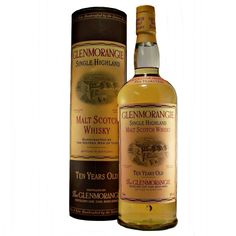 Glenmorangie 1990's 10 year old Litre bottling Single Malt Whisky available to buy online at specialist whisky shop whiskys.co.uk Stamford Bridge York