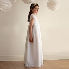 Vestido de Comunión Sofía by BelandSoph.com | BelandSoph.com