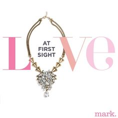 Fell in love with this necklace immediately! Couldn't wait to get my hands on this vintage glam statement piece by mark. #AvonRep
