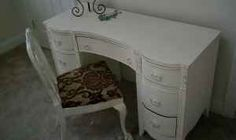 SHABBY CHIC DESK AND CHAIR - $50 (Grafton)