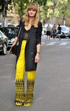 Milan street style, better than NYC? Photo by Melanie Galea.