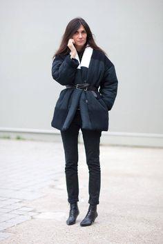la modella mafia Emmanuelle Alt 2014 street style in Isabel Marant Street Style 2014, Street Style Looks, Street Style Women, Emmanuelle Alt Style, Vogue Paris, Zuko, Isabel Marant, Paris Street Fashion, London Fashion