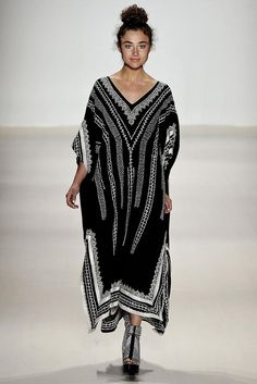 Nanette Lepore Spring 2015 Ready-to-Wear - Collection - Gallery - Look 1 - Style.com #kaftan