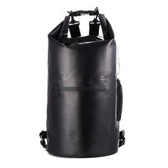 8cba8a44949 ... Dry Gear Bag Backpack for Kayaking, Beach, Fishing, Boating, Hiking,  Rafting, Swimming, Camping Outdoor Backpack with Shoulder Strap Black -  Walmart.com