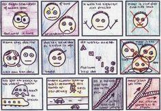 Geweldig!! Kind beschrijft wat autisme nu eigenlijk is aan de hand van zijn gemaakte strip :)