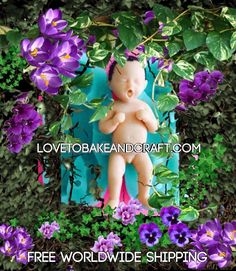 How to make a polymer clay fairy mold Baby mold Doll mold Pixie mold Elf mold Polymer fairy Polymer Pixie Polymer elf Baby fairy mold Baby fairy mould Fairy Doll mold Silicone